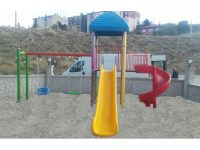 metal çocuk oyun parkı