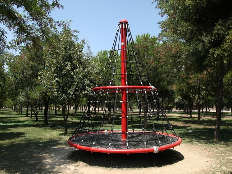 Çocuk Oyun Parkları ip tırmanma