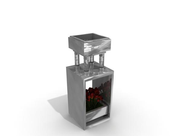Özel Tasarım Çöp Kovası (OTC-06)