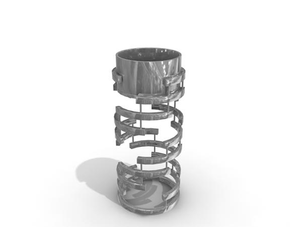 Özel Tasarım Çöp Kovası (OTC-10)