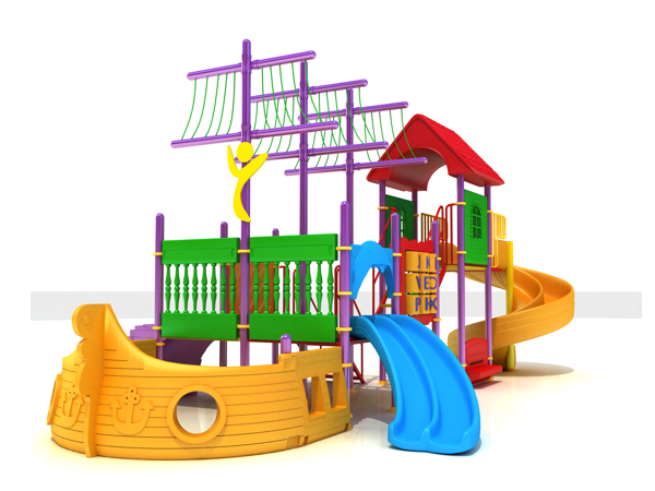 çocuk oyun parkı gemi BOS27