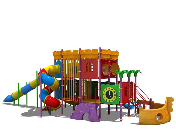 çocuk oyun parkı gemi BOS60