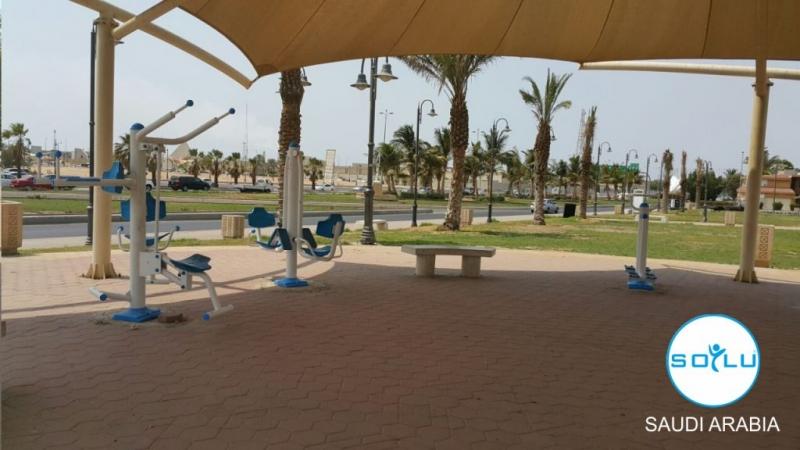 Açık Alan Fitness Aletleri Suudi Arabistan