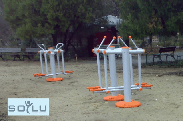 açık alan fitness aletleri
