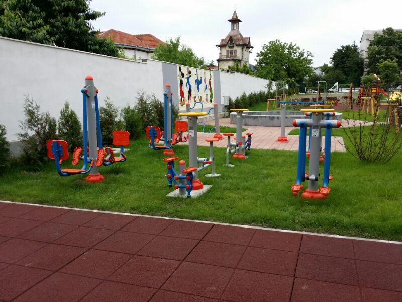 Açık Alan Fitness Aletleri Romanya