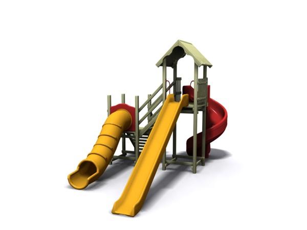 ahşap çocuk oyun parkı sgt-104