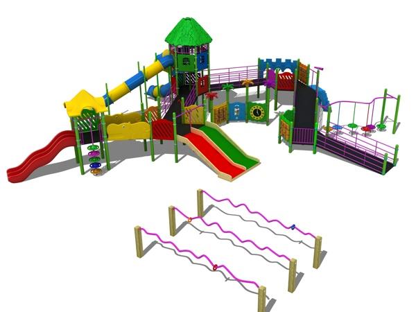 engelli çocuk oyun parkı bos 34n