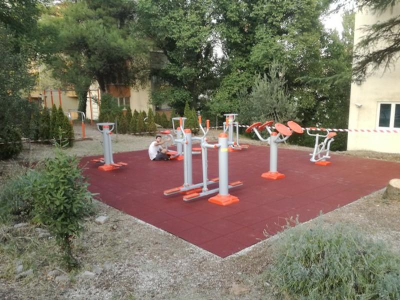 açık alan fitness