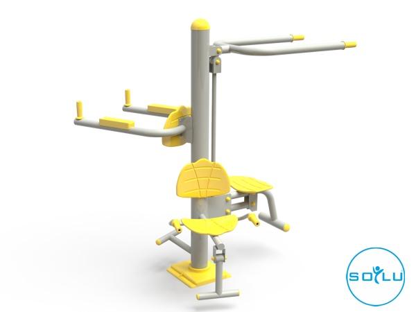 Üçlü Vücut Geliştirme Aleti / EKS-17