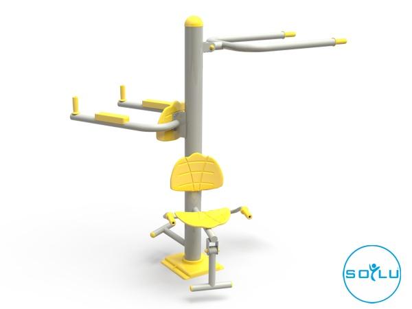 Üçlü Vücut Geliştirme Aleti / EKS-03